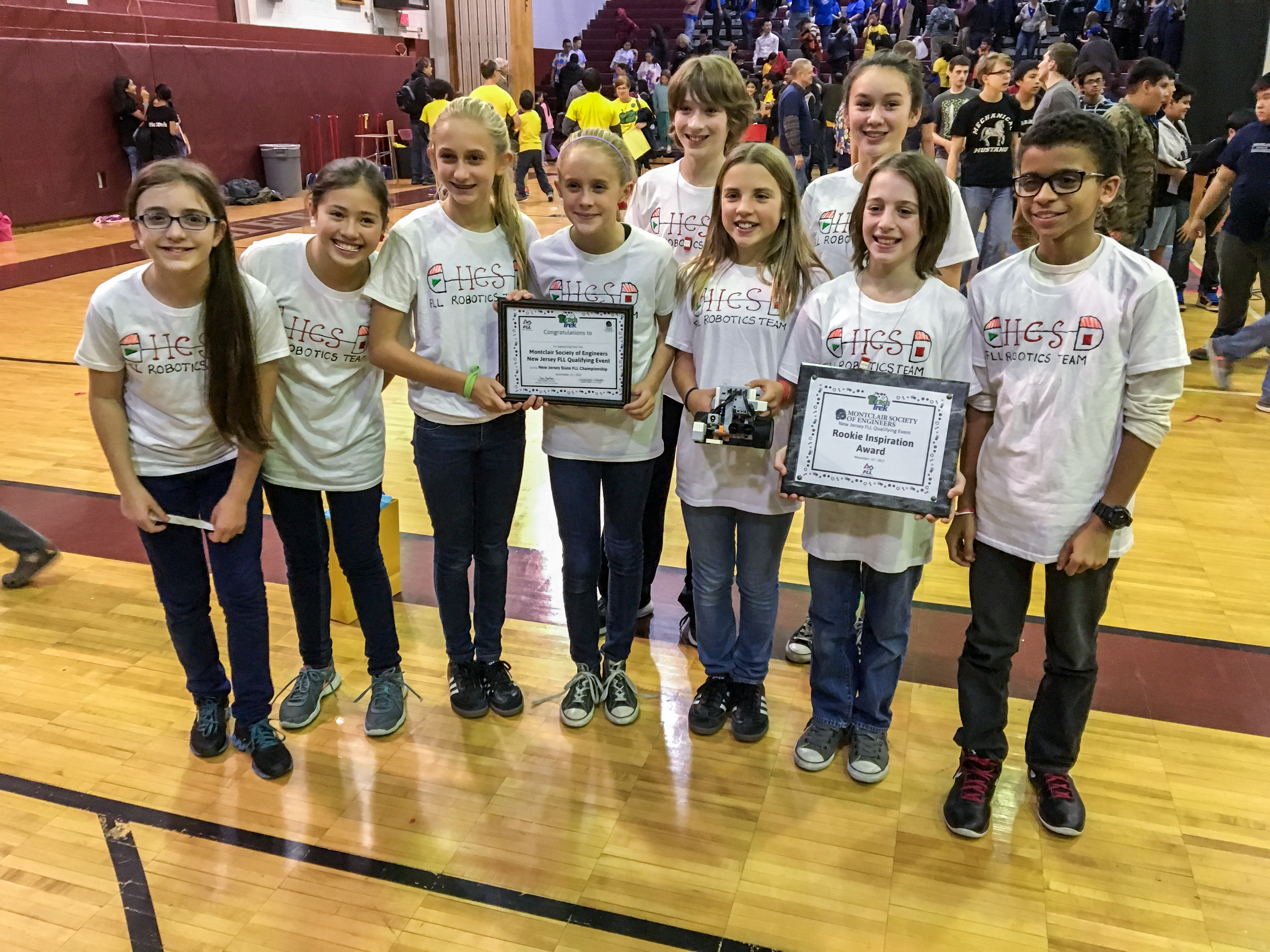Hcs Robotics Team Places In National Competition Wins