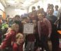 "HCS Team Wins ""Champions Award"" at First Lego League Robotics Qualifier"